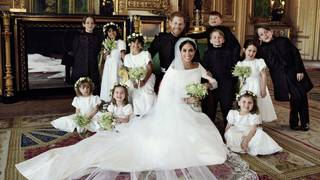 Royal wedding: Duke and Duchess of Sussex release official photos