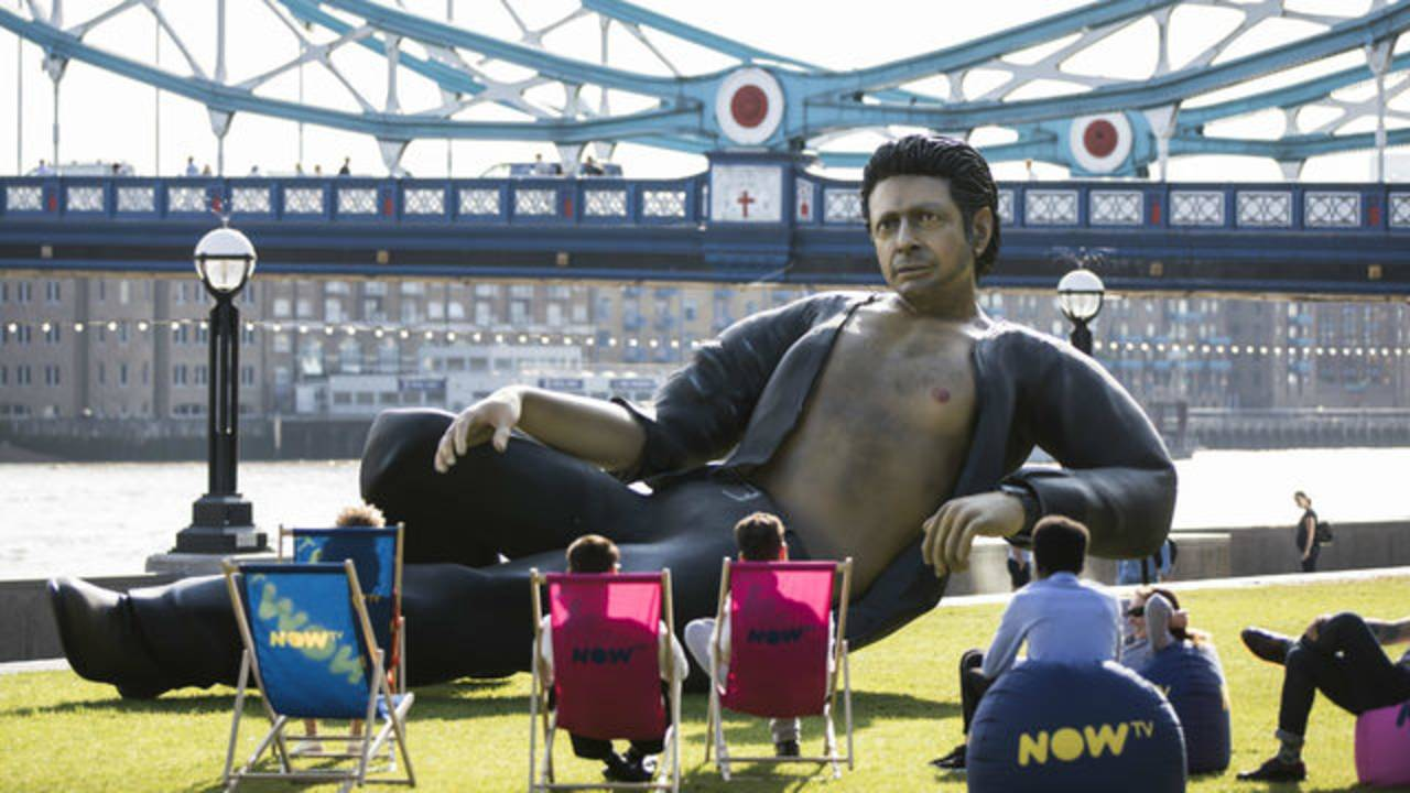 Jeff Goldblum float