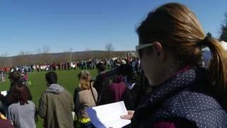 Blacksburg students take part in National School Walkout