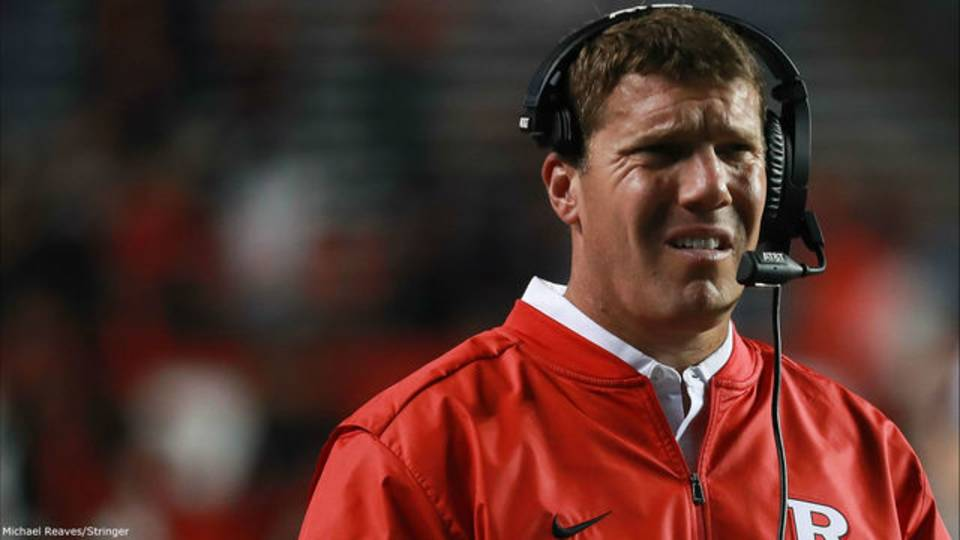 Chris Ash Rutgers football destroyed by Michigan 2016