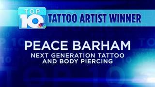 10 News Top 10: Tattoo Artist