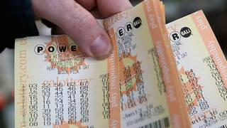 Man wins lottery using birthday numbers