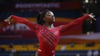 USA women's gymnastics wins team title at world championships