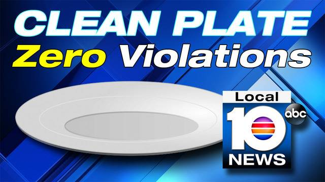 Broward County Tops Clean Plate List For Restaurants With No