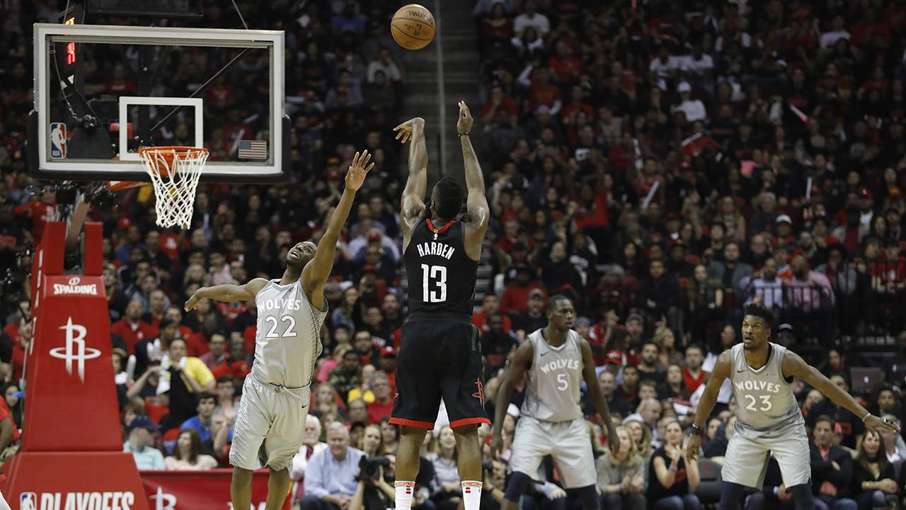 22241d672815 Keys 2 Rockets Game 3 win over Timberwolves