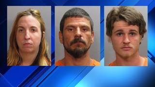 Police release mugshots of 3 arrested in throat slashing