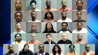 32 arrested in four days in Martinsville on illegal drug charges