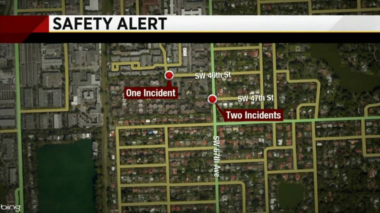 Serial flasher targets victims on Thursday nights, Miami-Dade... on