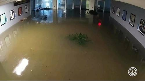 Updates on repairs being made at Jewish Synagogue damaged by Harvey