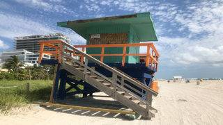 Miami Beach auctions off old lifeguard stands