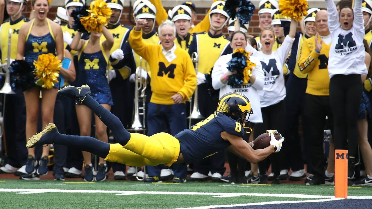 Ronnie Bell Michigan Wolverines vs. Maryland_1538999531244.jpg.jpg
