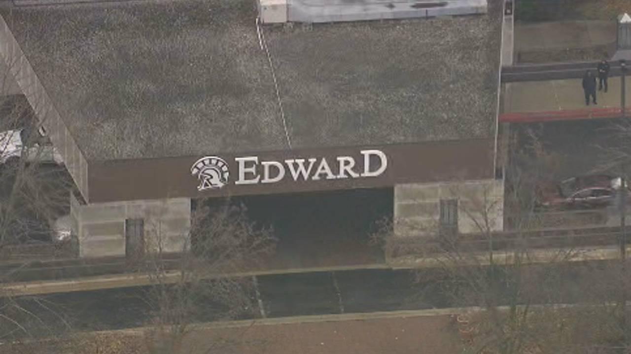 Edward Hotel in Dearborn sign