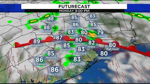 Summer heat back after cool weekend, rain in the forecast