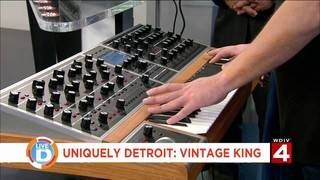Uniquely Detroit: Company brings historic music equipment back to life