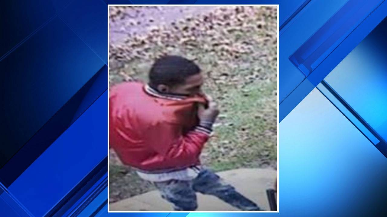 Dearborn Heights package thief red jacket 4