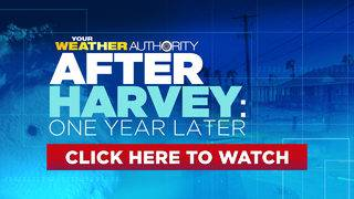 KSAT weather team takes look back at Hurricane Harvey one year later
