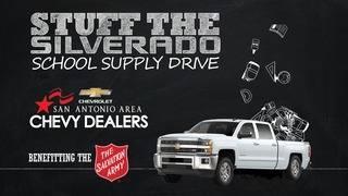 'Stuff the Silverado' school supply drive
