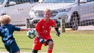 10-year-old Lynchburg goalie dedicates soccer saves to breast cancer research