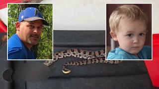 Callahan man bitten by rattlesnake in heroic act to protect grandson