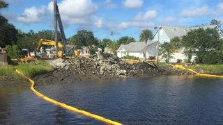 Boat ramp goes nearly a year without repair after Hurricane Irma