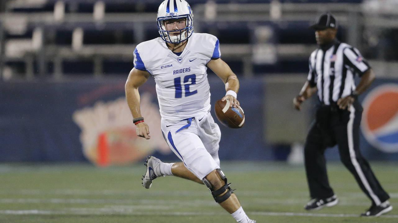 Brent Stockstill Middle Tennessee football 2016