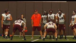 Ashby, Rivers look to fill linebacker void for Hokies