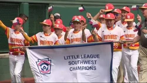 Post Oak baseball team participates in Opening Ceremony at Little League World Series