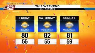 KSAT Weather: Fiesta forecast for Battle of Flowers, rest of weekend