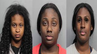 Trio accused of stealing more than $2,500 worth of merchandise at Aventura Mall