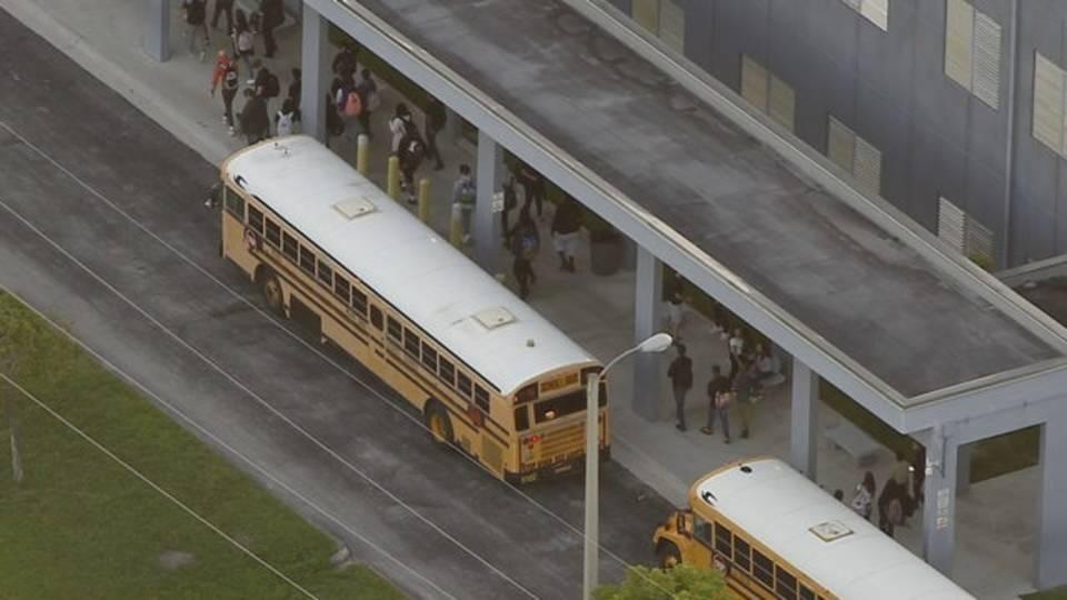 Students returning to krop high school