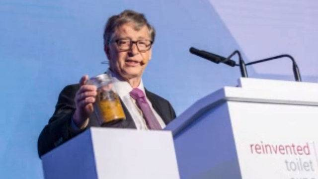 Bill Gates Uses Poop As Prop To Pitch Toilet Of The Future