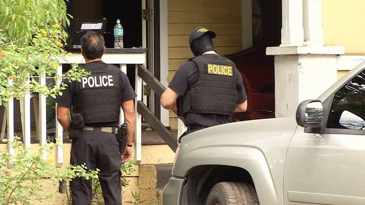 Police bust suspected drug den in Riverside