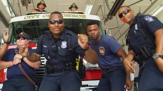 Police and Fire Officials Team Up for 'Uptown Funk'