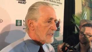Pat Riley disputes report he cursed at Minnesota exec