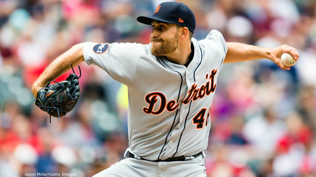 Matt Boyd Tigers vs Indians 2017