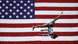 Simone Biles wins 6th national title
