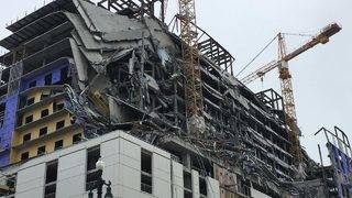 Hotel Under Construction Collapses in New Orleans, Leaving 1 Person Dead