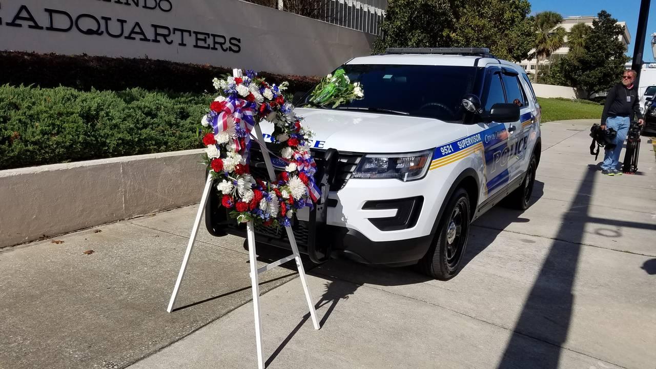 Sgt. Clayton's patrol car