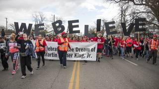 SLIDESHOW: More than 300,000 people attend SA's MLK march