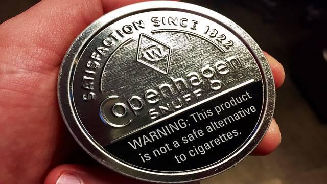 tobacco copenhagen snuff l