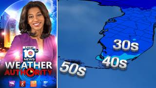 Download the FREE Local 10 Weather Authority APP to follow South Florida chill