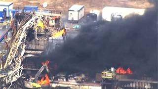 5 missing after Oklahoma rig explosion, emergency official says