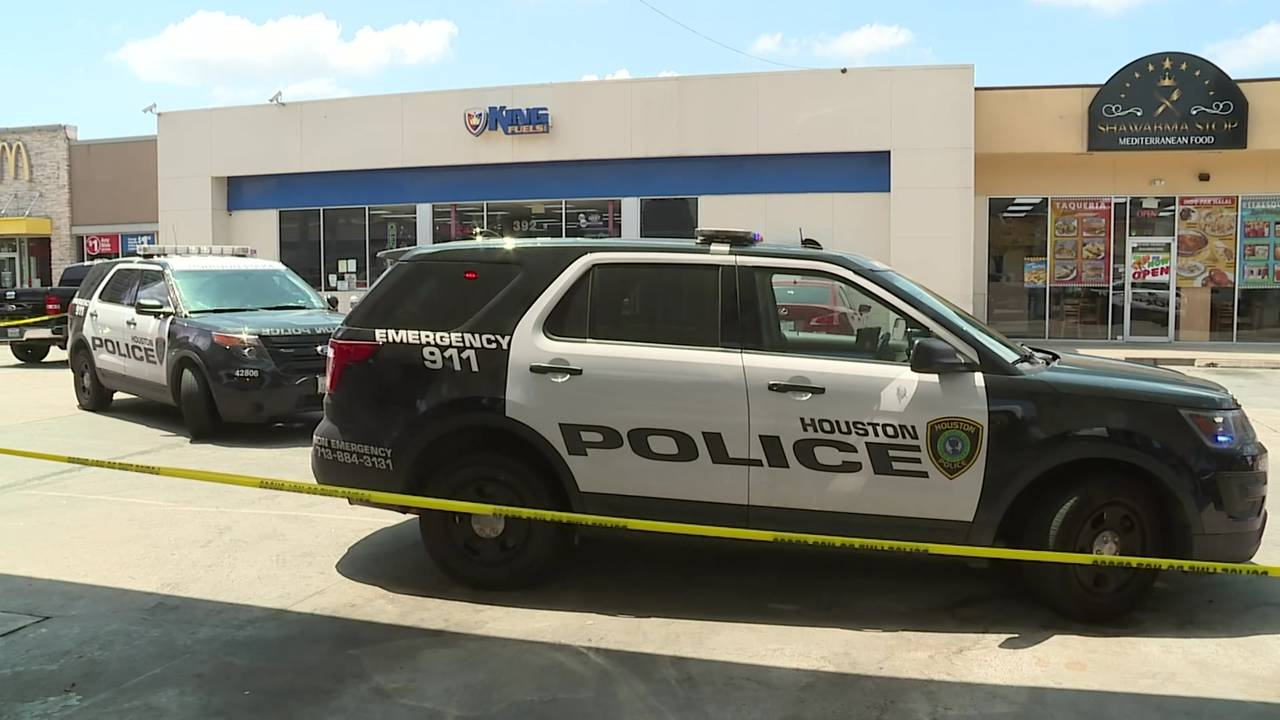 Sam Houston Parkway gas station shooting 8-14-19