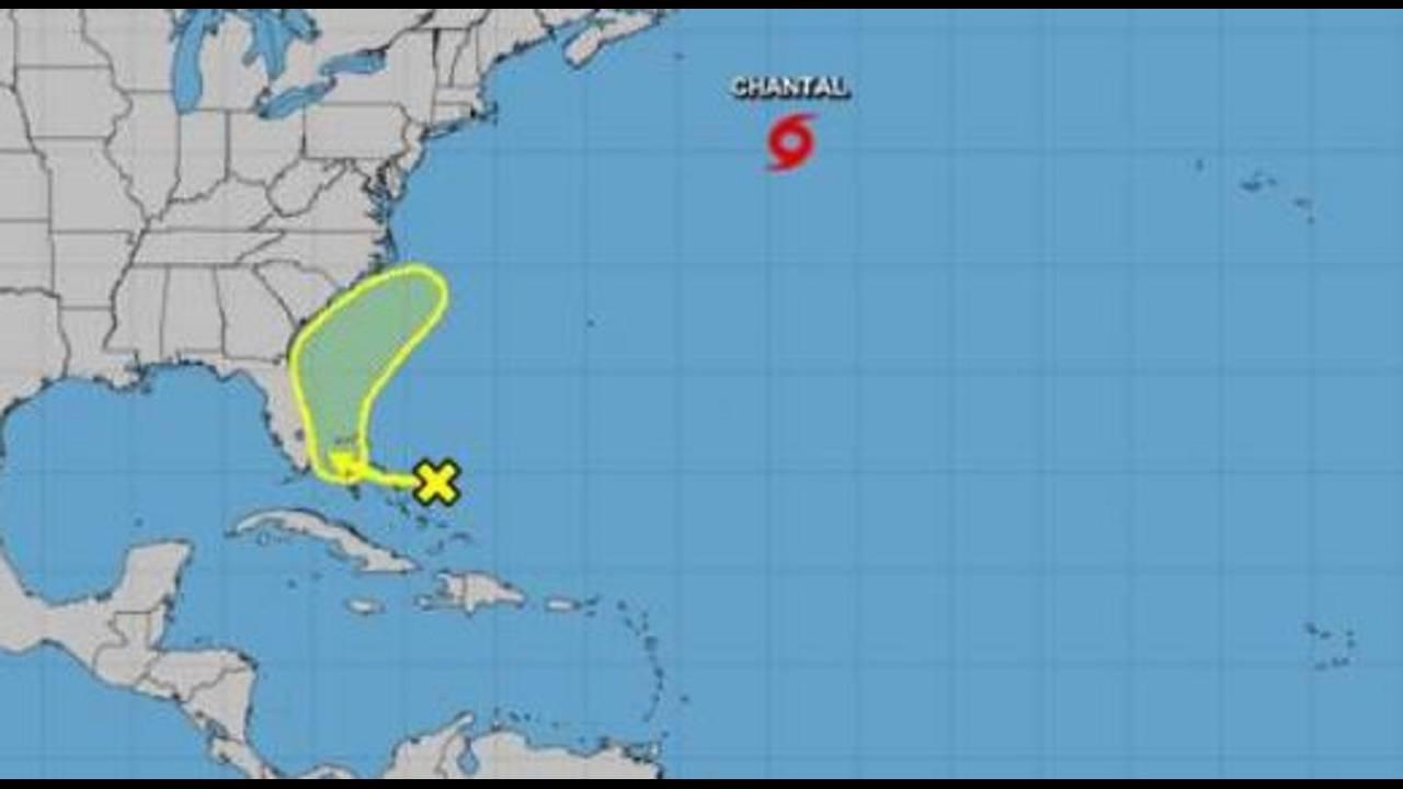 Tropical system near Florida 8-21-19