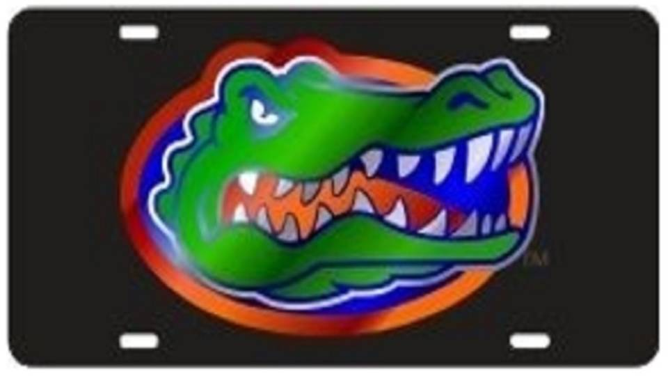 Florida Gator vanity plate