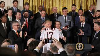 President Trump recognizes World Series champion Houston Astros
