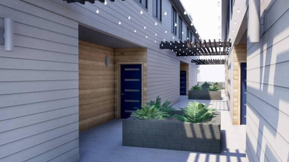 Henry Street Residential entrance