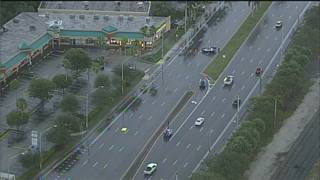 Pedestrian fatally struck by car on Biscayne Boulevard in North Miami Beach