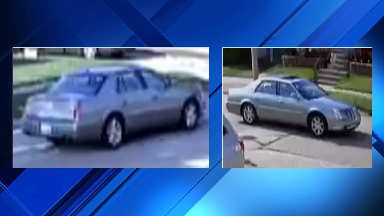 Dorian Sykes bank robbery suspect vehicle