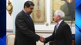 Senate foreign relations chairman meets Maduro in Caracas